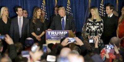 El 16 de junio de 2015, en la ciudad estadounidense de Nueva York, Trump anunció su precandidatura para las elecciones de 2016. Foto:AP
