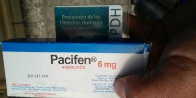 PDH presenta pruebas de medicamento vencido que fue donado al presidente