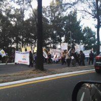 Usuarios de redes sociales comparten imágenes de las manifestaciones en Guatemala. Foto:@EmisorasUnidas