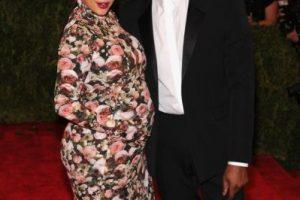 El vestido floreado de Kim Kardahsian en la gala del MET de 2013, que generó una ola viral de memes. Foto:vía Getty Images