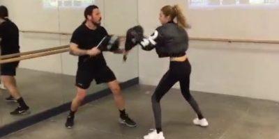 También ocupa su tiempo libre en kick boxing. Foto:Vía Instagram/@gigihadid
