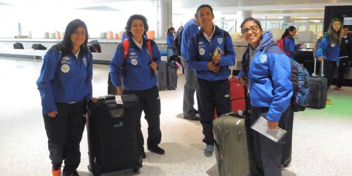 La Selección Femenina se instaló en Houston para disputar el preolímpico
