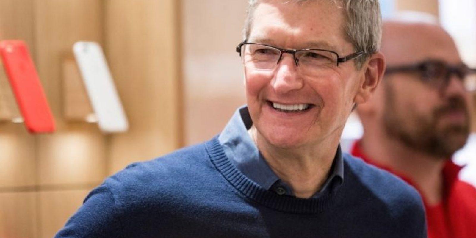 Según se reveló, Tim quizó donarle parte de su hígado a Steve Jobs para salvarle la vida. Foto:Getty Images