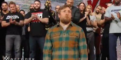 El incidente se dio en la despedida de Daniel Bryan Foto:WWE