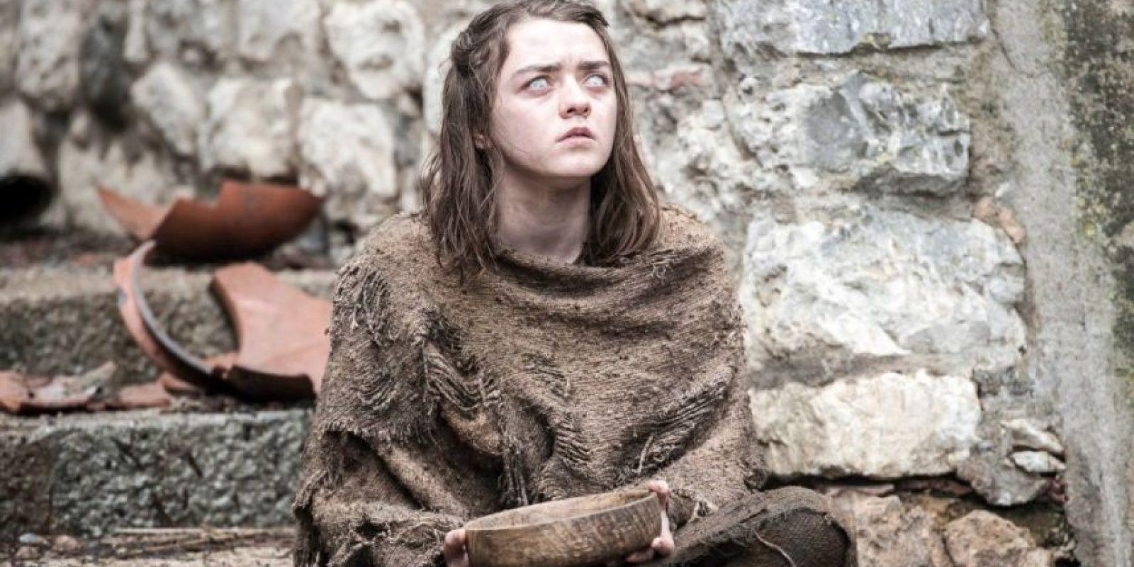 Arya Stark está ciega. Foto:Vía Facebook/Game of Thrones
