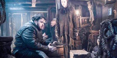 Samwell Tarly y Gilly huyen del Norte. Foto:Vía Facebook/Game of Thrones