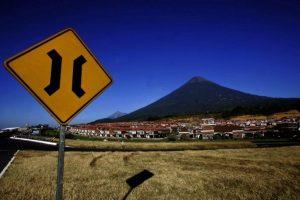 El volcán de Fuego ha registrado un incremento en su actividad en los últimos días. Foto:AFP