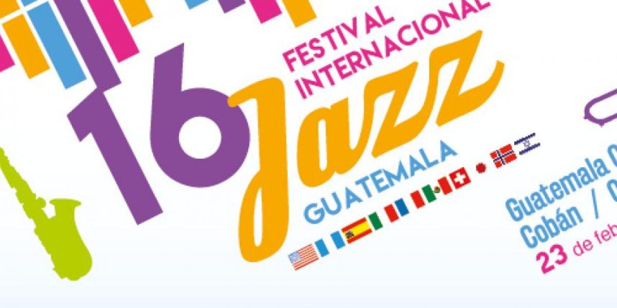 IGA presenta el 16 Festival internacional de Jazz en Guatemala