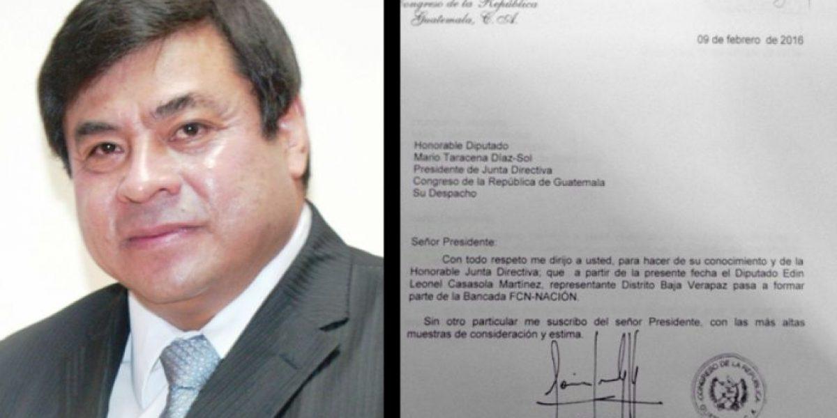 FCN-Nación suma a otro tránsfuga: Edín Leonel Cassasola
