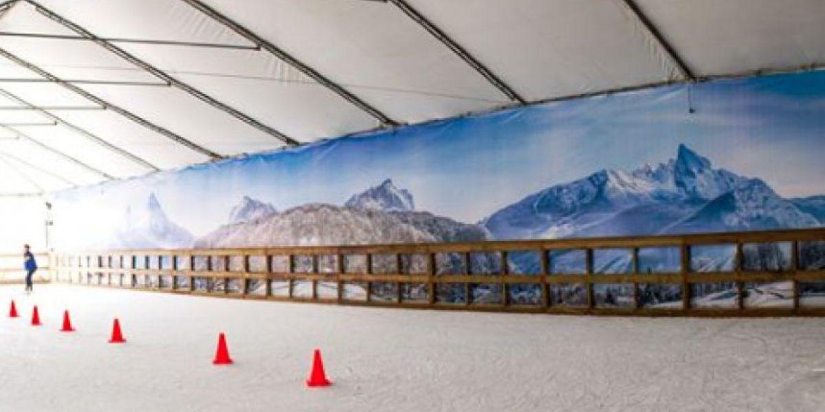 Pradera Concepción tendrá su pista de hielo para el verano 2016