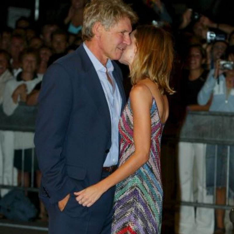 Harrison Ford y Calista Flockhart Foto: Getty Images