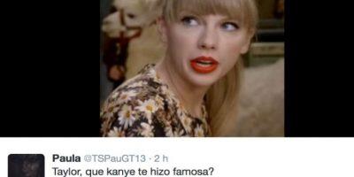 Los fans de Swift enfurecieron. Foto:vía Twitter
