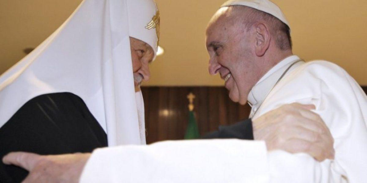 Fotos de la reunión del papa Francisco y el patriarca Kirill en Cuba, febrero 2016