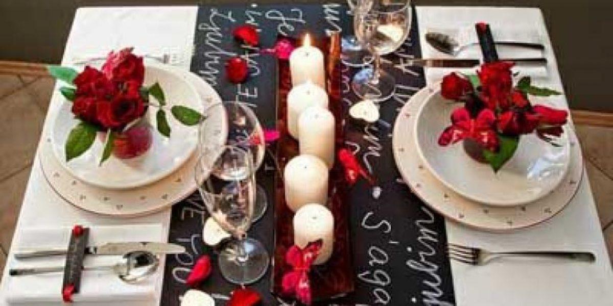 De esta forma lograrás una cena romántica con tu pareja