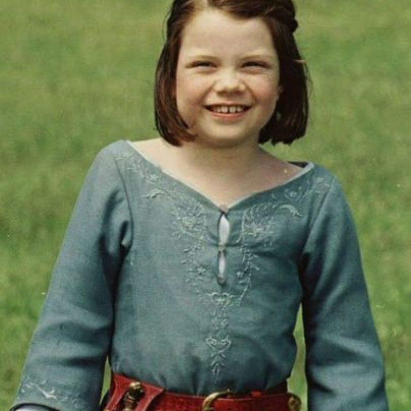"""Georgie Henley era la increíble """"Lucy"""" de """"Las Crónicas de Narnia"""". Foto:vía Disney"""