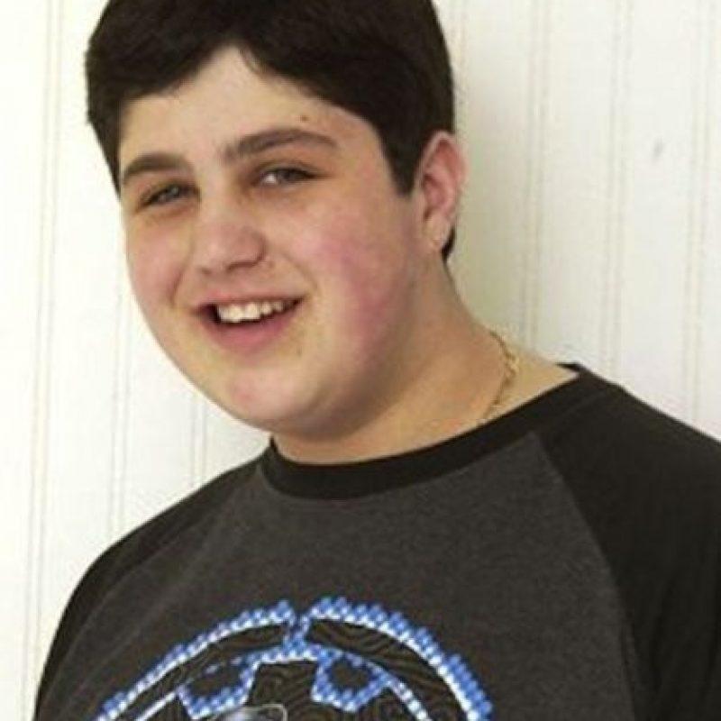 "Josh Peck, de ""Drake y Josh"". Foto:vía Nickelodeon"