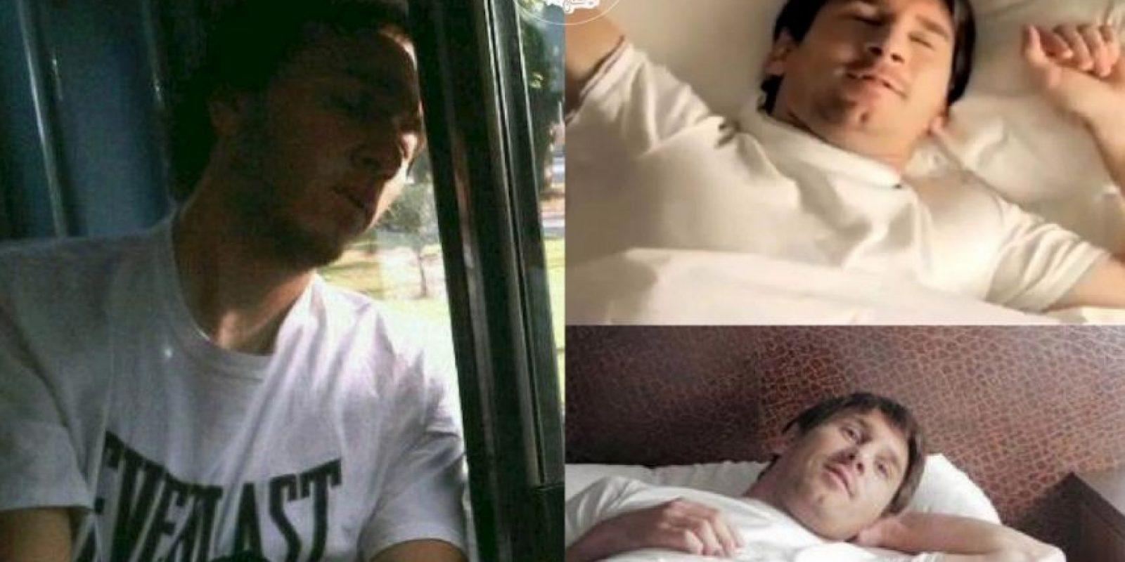 Messi Foto:vía Facebook/ Parecidos de Bondis