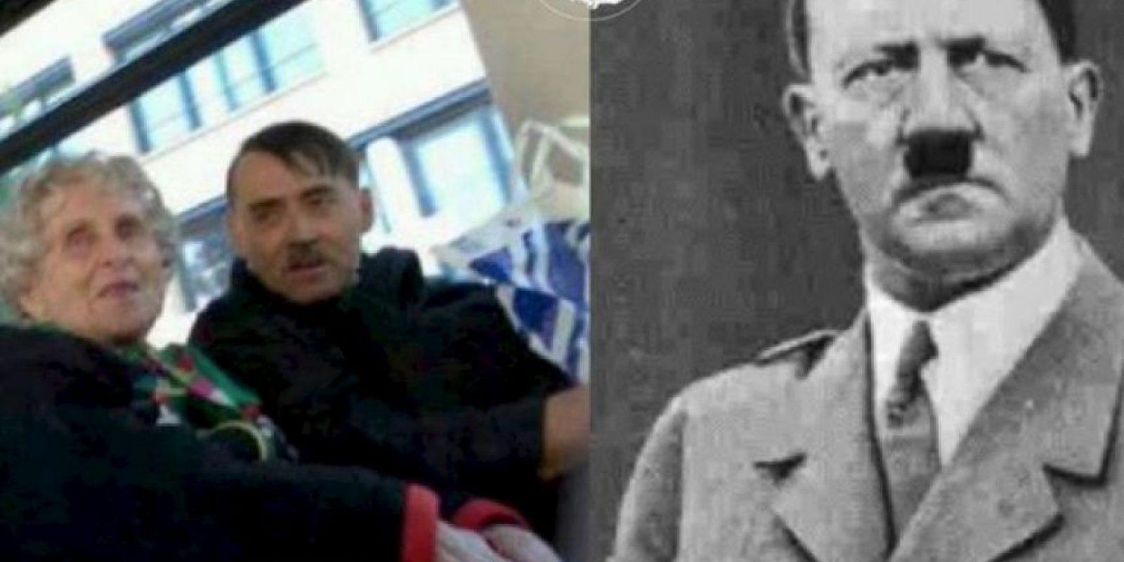 Hitler Foto:vía Facebook/ Parecidos de Bondis