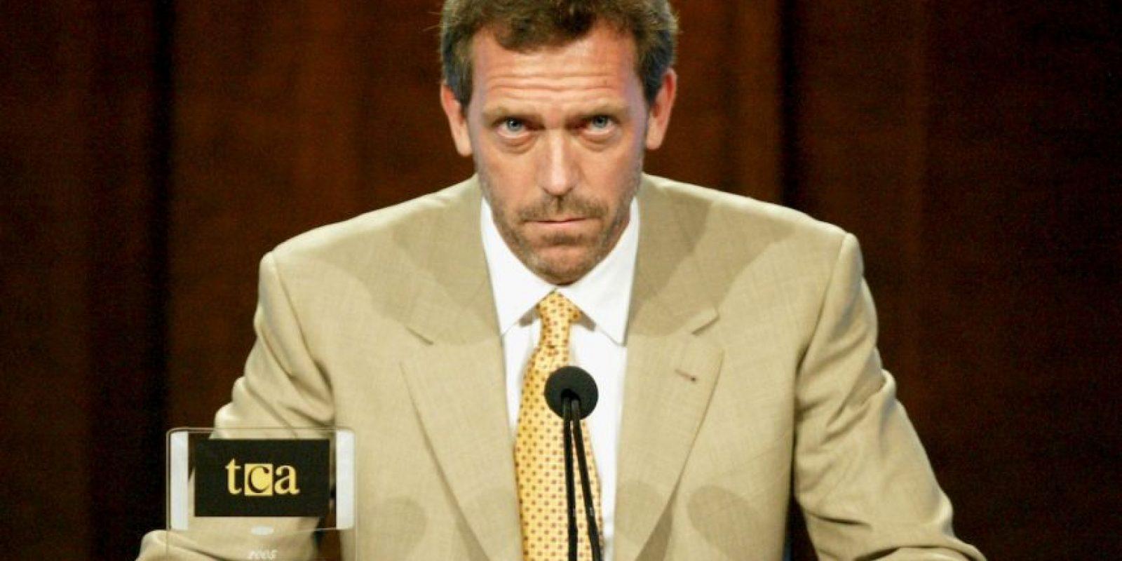 """Hugh Laurie se veía así en sus comiezos de """"Dr.House"""". Foto:vía Getty Images"""
