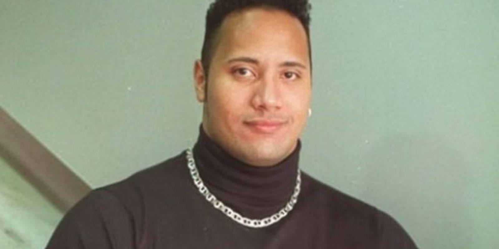 """Así era """"The Rock"""" en los 90. Muy """"Fresh Prince""""."""