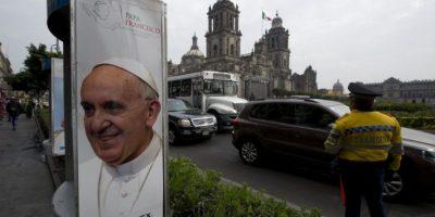 México se prepara para la visita del papa Francisco, en febrero de 2016. Foto:AFP