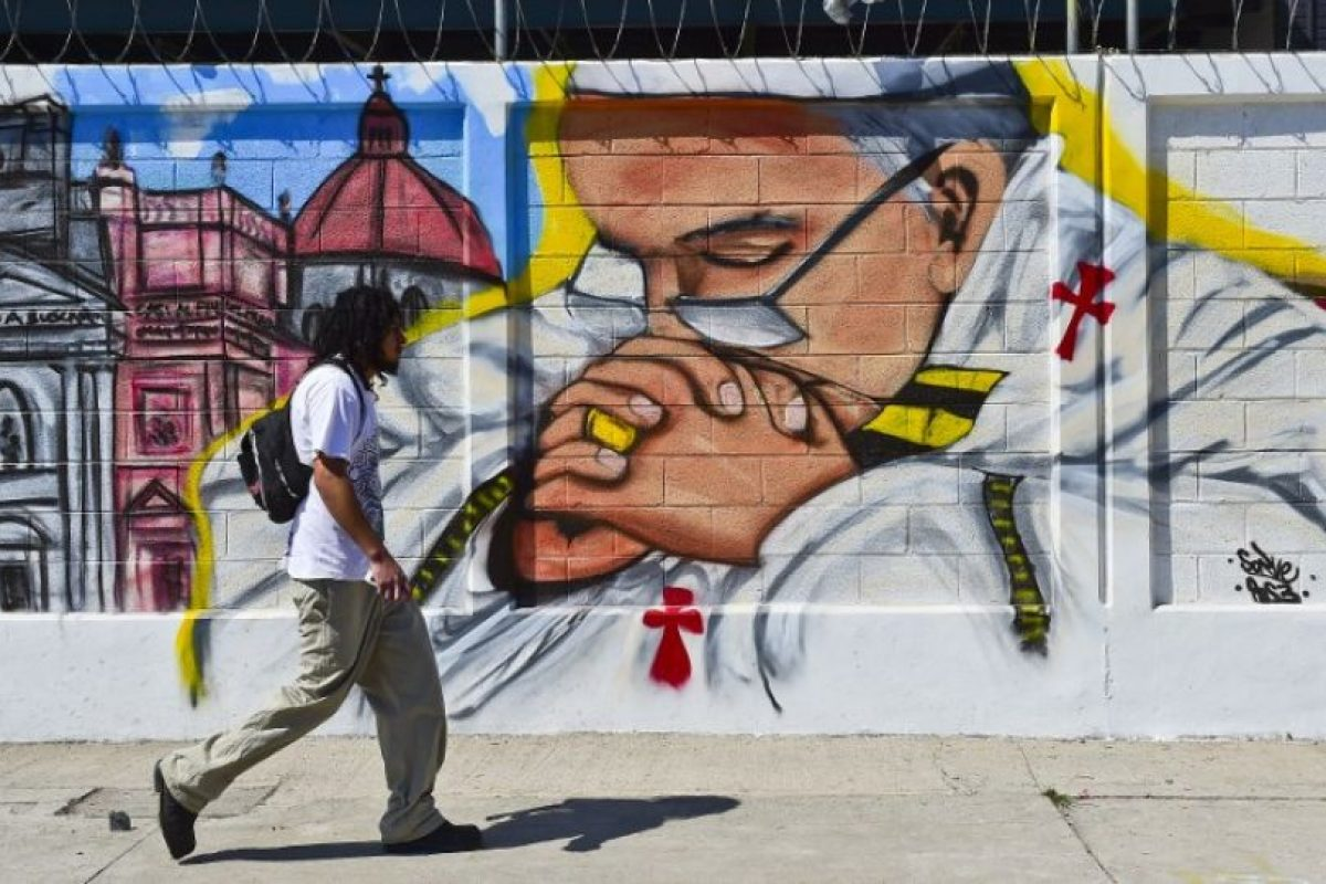 En su itinerario se incluyen distintas misas. Foto:AFP