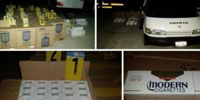 Decomisan cargamento de cigarrillos de contrabando en Zacapa