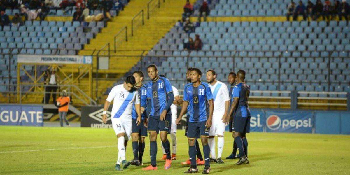 Fedefut reporta pérdida en el amistoso Guatemala ante Honduras