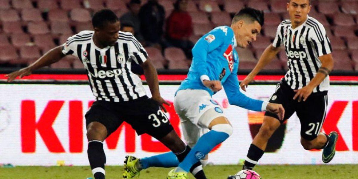Resultado del partido Juventus vs. Napoli por la Serie A 2016