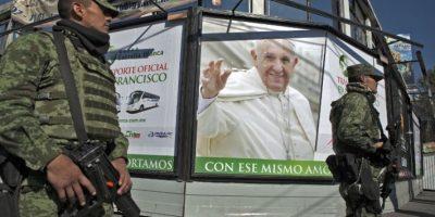 México recibió con júbilo al papa Francisco en su visita de febrero 2016. Foto:AFP