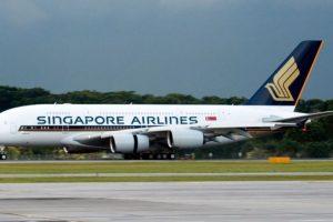 Singapore Airlines- Singapur Foto:Vía Facebook.com/singaporeair