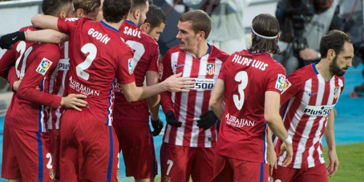 Resultado del partido Getafe vs. Atlético de Madrid, Liga Española 2016