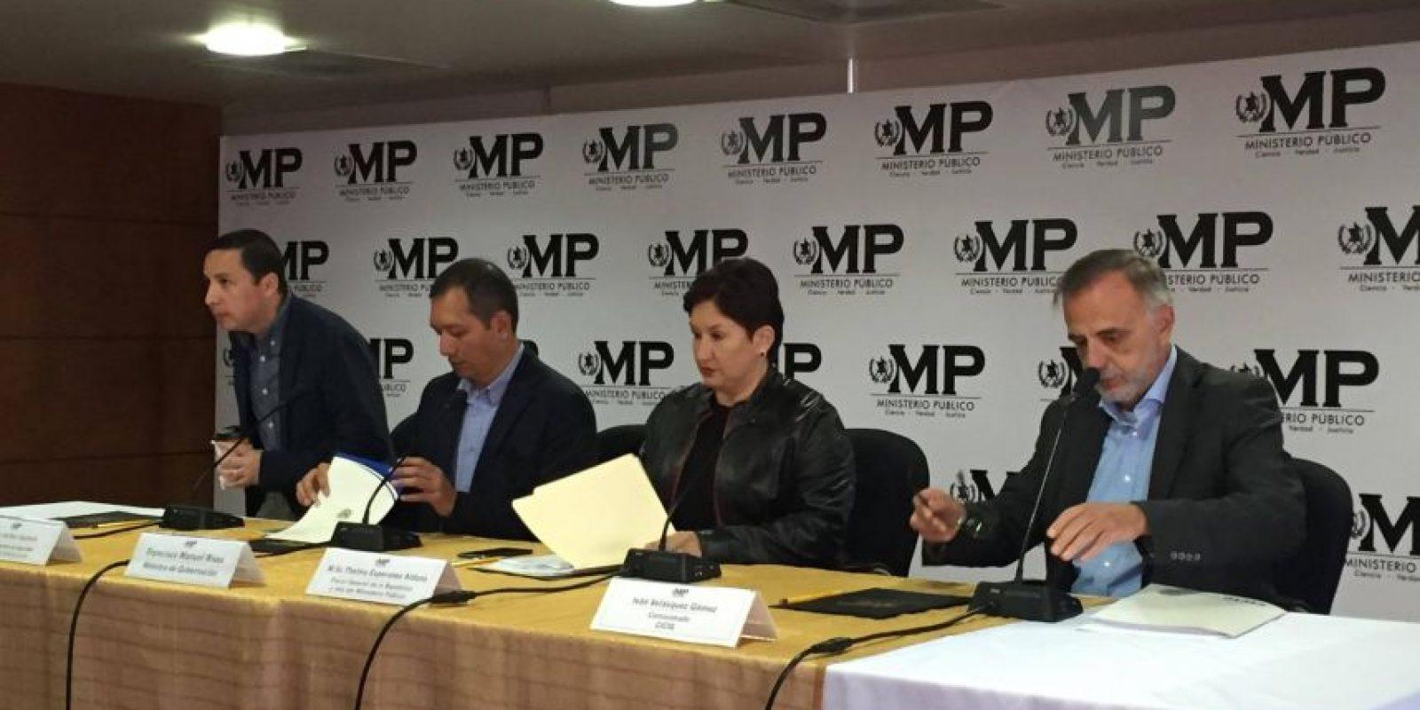 El jefe de la CICIG, Iván Velásquez, durante una comparecencia ante los medios. Foto:Publinews