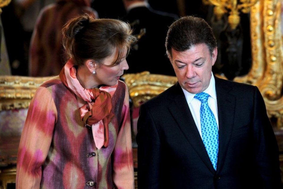 Colombia: Juan Manuel Santos y María Clemencia Foto:Getty Images