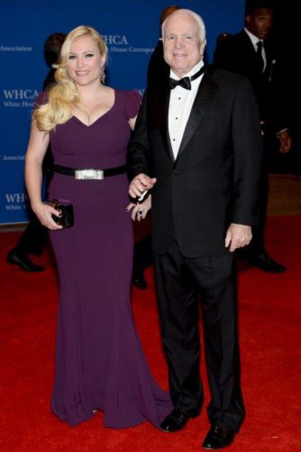 John McCain y Meghan McCain Foto:Getty Images