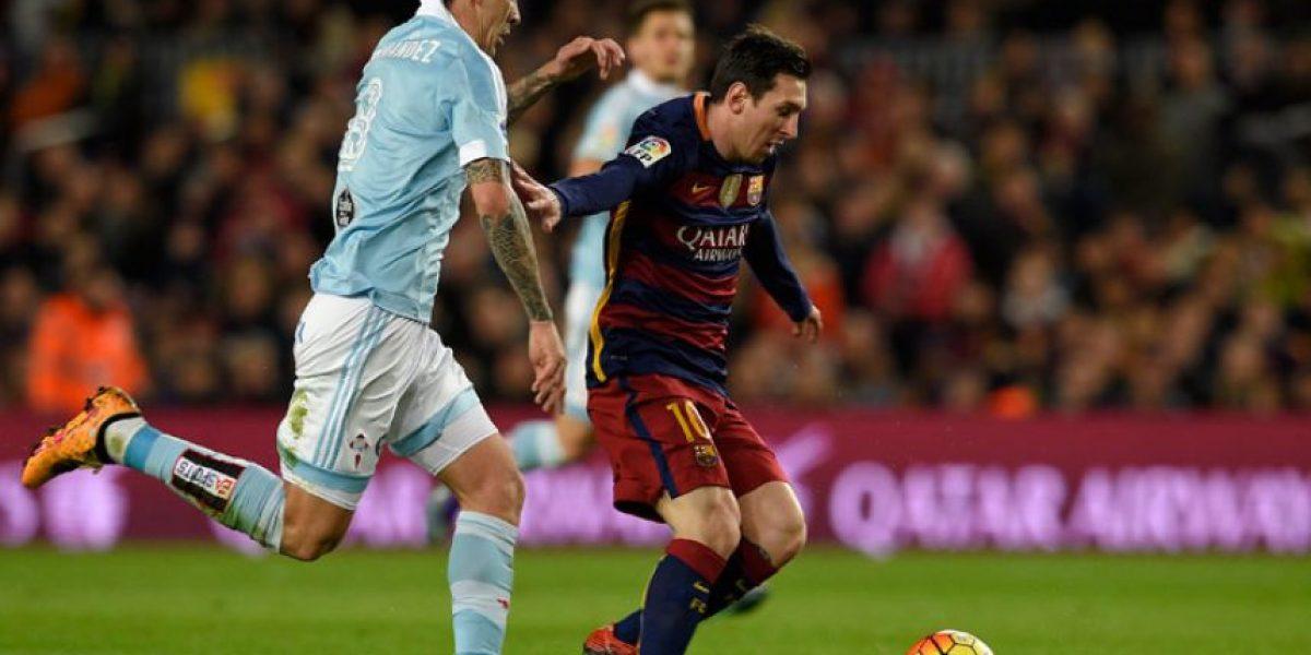 Video: Penalti de Lionel Messi ante el Celta de Vigo