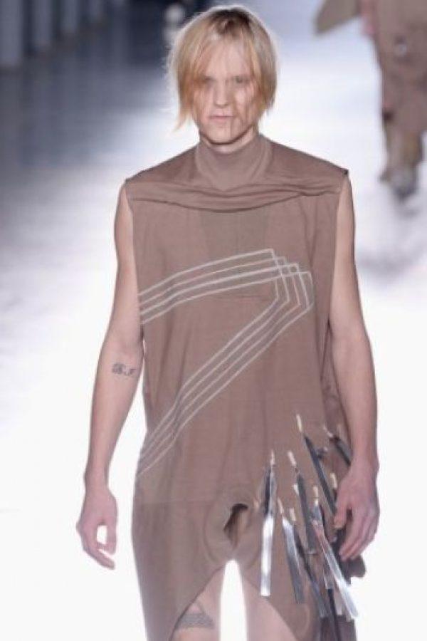 Owens se presentó en la semana de la moda masculina en París en 2015. Foto:Getty Images