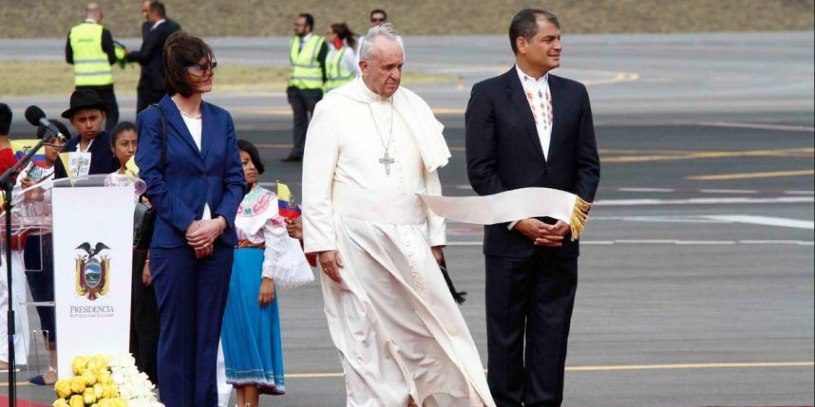 Ecuador: Rafael Correa Delgado y Anne Malherbe Foto:Wikipedia Commons