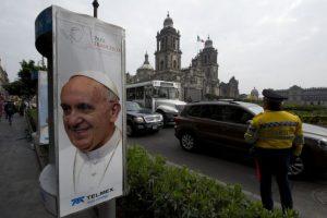 México se preparó para la visita del papa Francisco. Foto:AFP