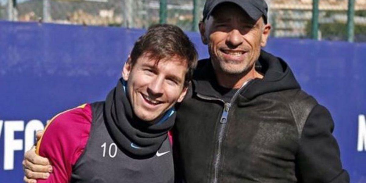 Messi recibe una visita inesperada de