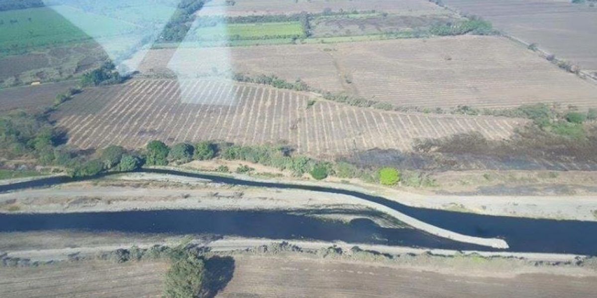 Anonymous Guatemala denuncia desvío del caudal de un río en Escuintla
