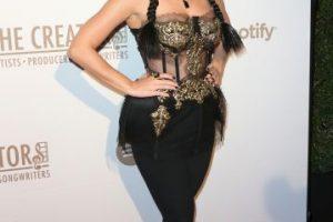 Así lucía Katy Perry en la prefiesta de los Grammy Foto:Getty Images