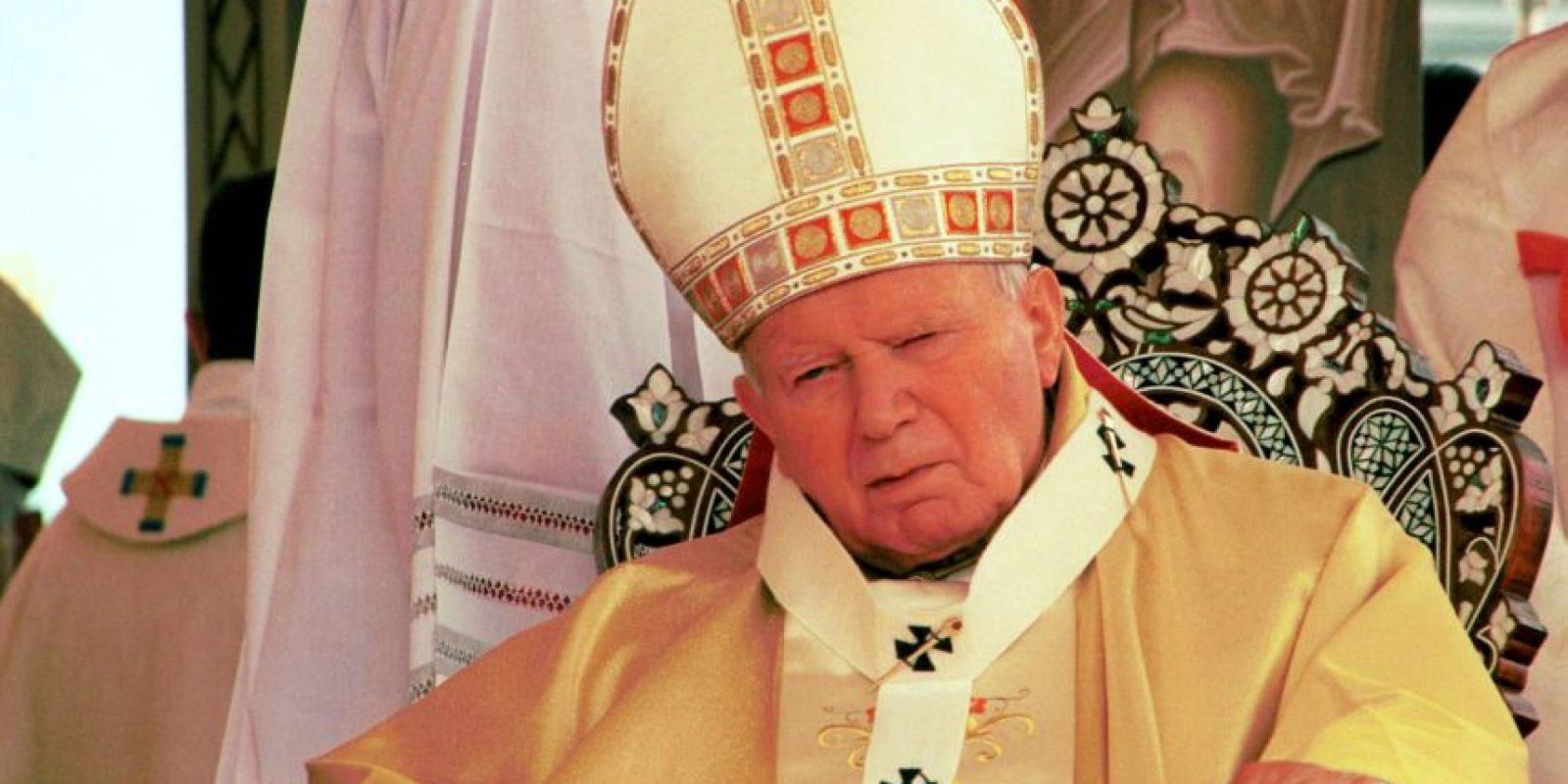 Juan Pablo II Foto:Getty Images