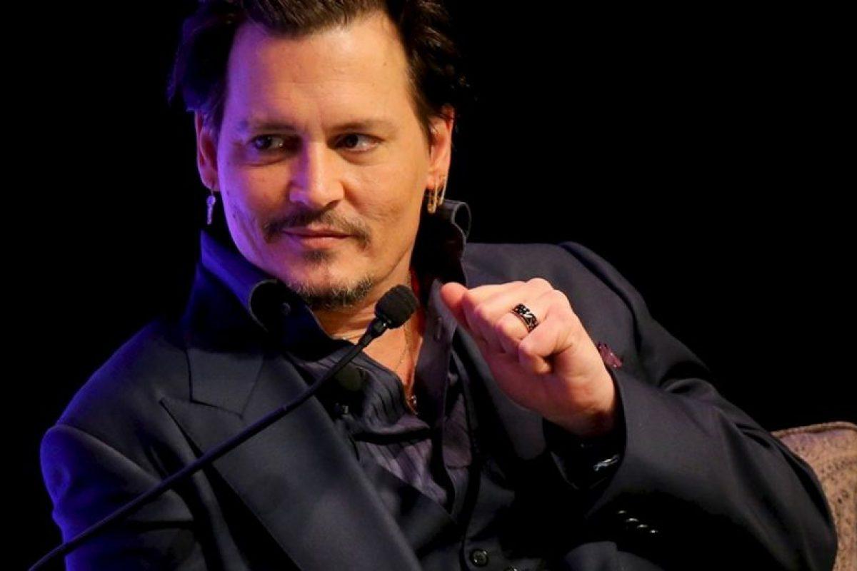 Johnny Depp sorprenderá al público con la banda The Hollywood Vampires y su tributo al fallecido Lemmy Kilmister. Foto:Getty Images
