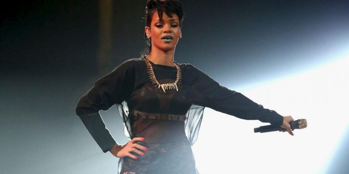 Rihanna canceló a última hora su presentación en los Grammy