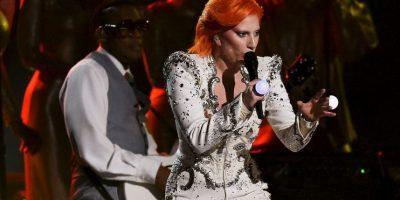 Así fue el performance de Lady Gaga en el tributo a David Bowie Foto:Getty Imges