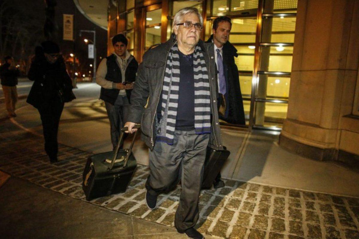Héctor Trujillo goza de arresto domiciliario en Estado Unidos. Esta implicado en el caso FIFAGate. Foto:AFP