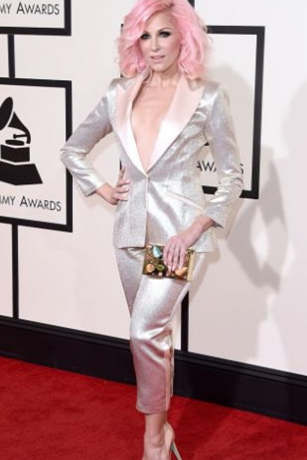 Bonnie McKee parece salida de un anime. Foto: vía Getty Images