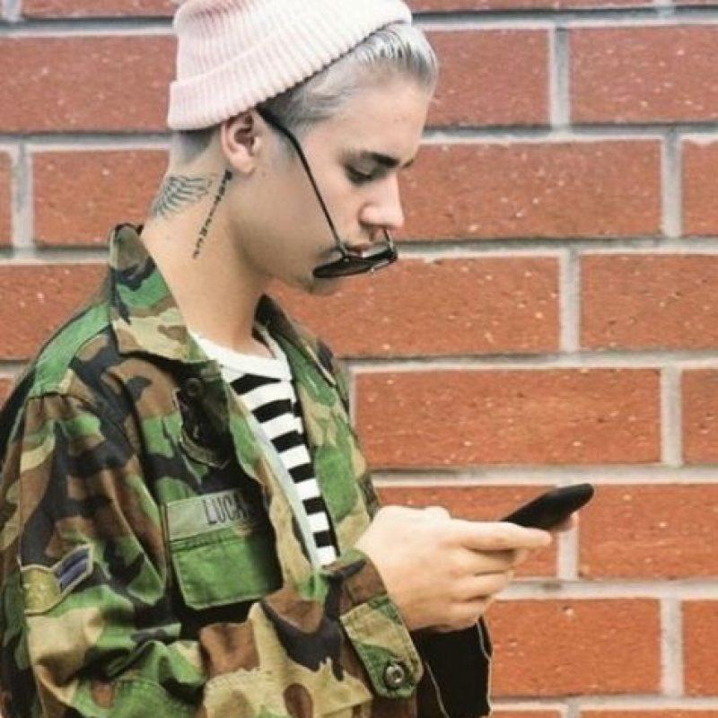 O su color de cabello Foto:Vía Instagram/@justinbieber
