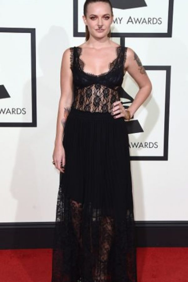 Tove Lo, una combinación entre Courtney Love y Amy Lee. Foto: vía Getty Images